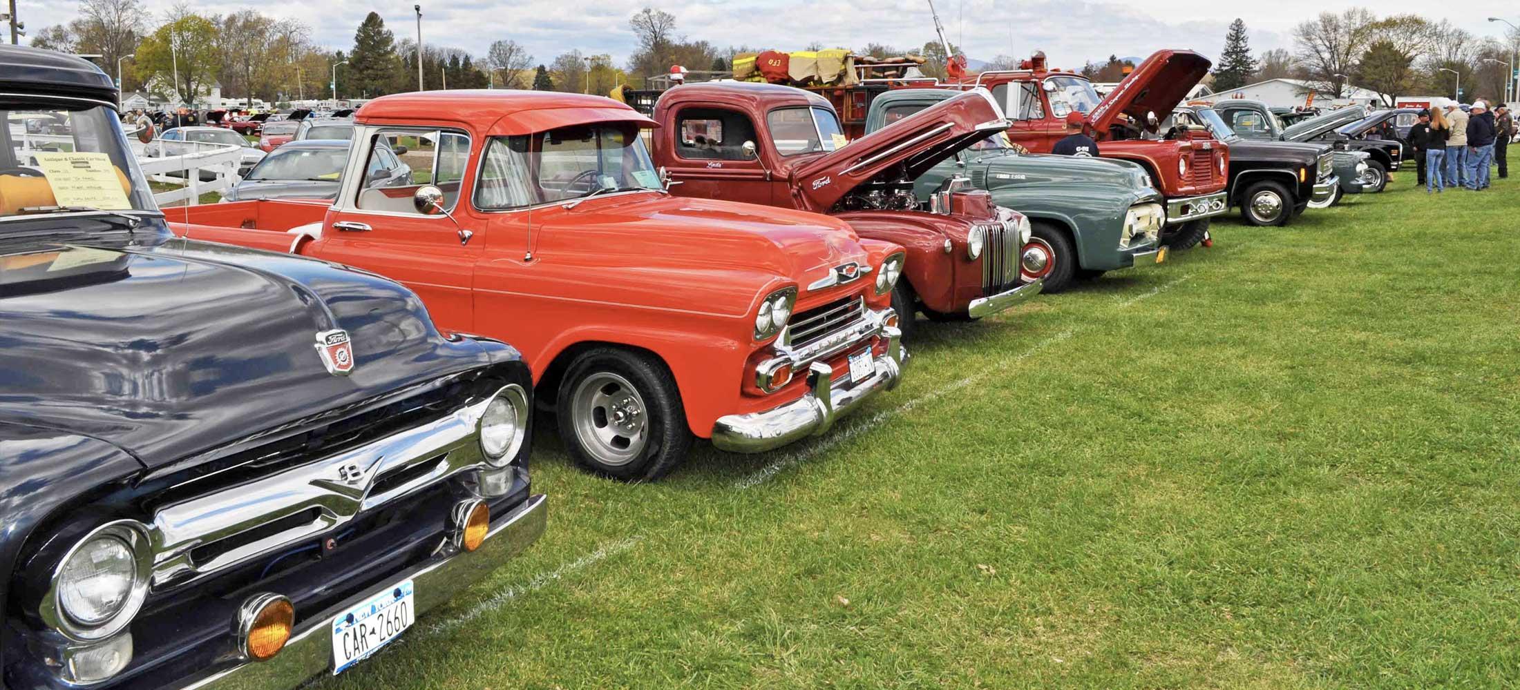 Rhinebeck Antique Car Show & Swap Meet
