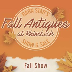 Barn Star's Fall Antiques at Rhinebeck