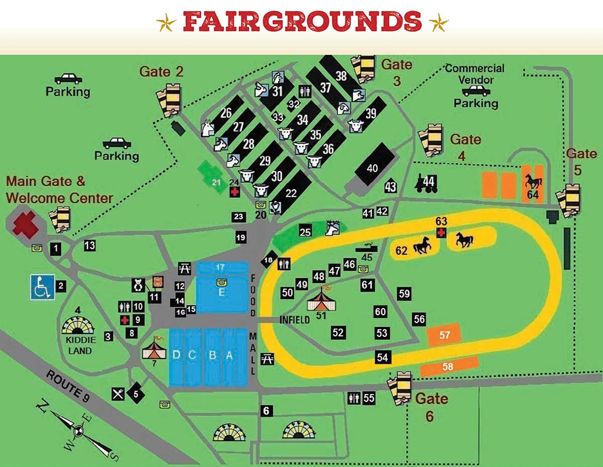 Dutchess Fair Map