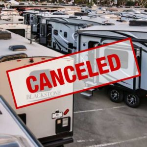 Camping World RV Super Show Canceled