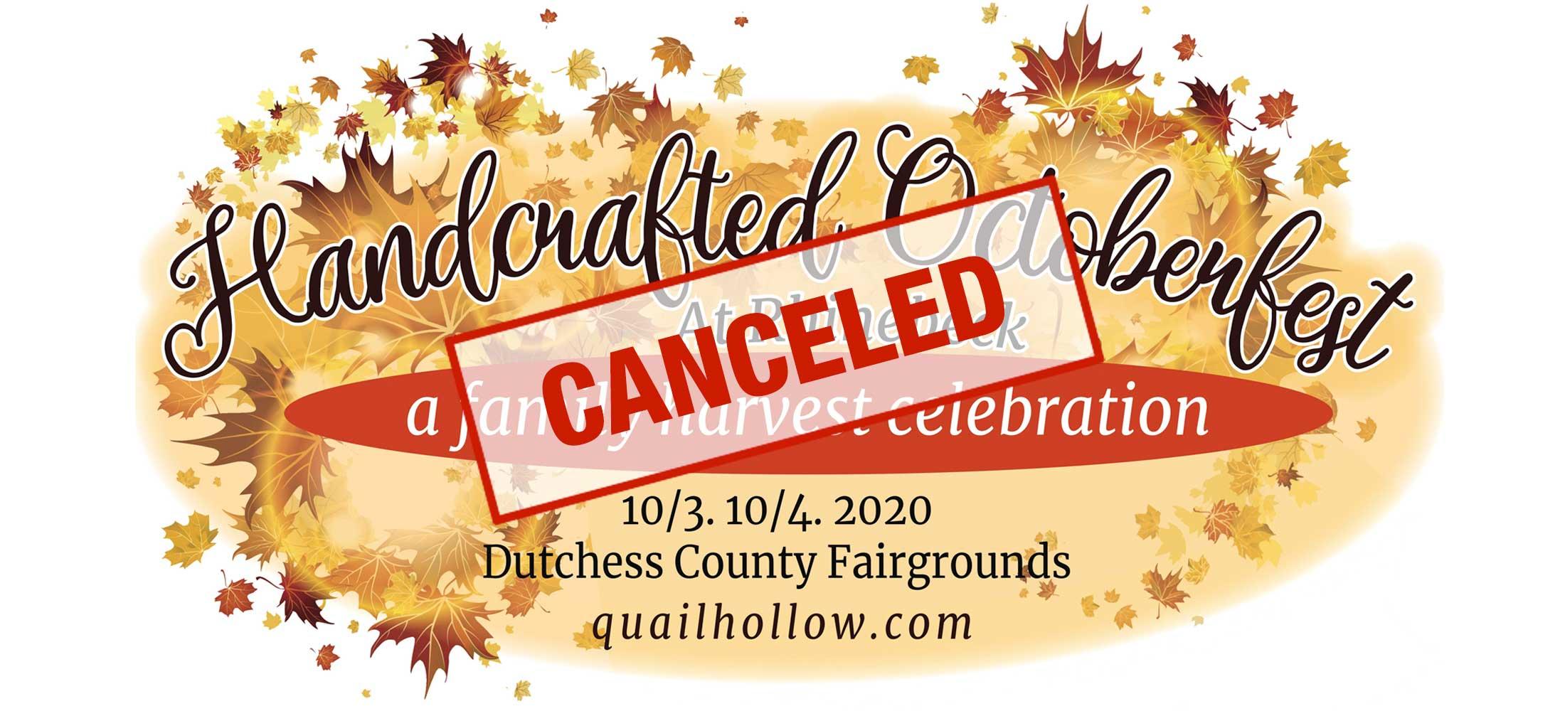 Handcrafted Octoberfest Rhinebeck CANCELED