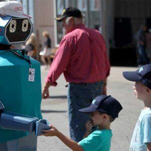 Oscar the Roving Robot